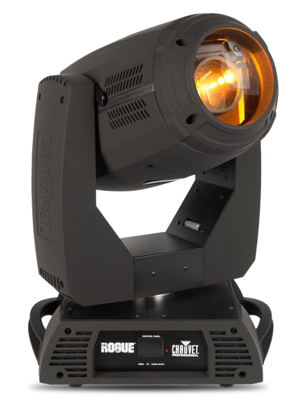 Chauvet Rogue RH1 Hybrid   Rogue RH1 Hybrid beam and spot possesses an unrivaled optical system with 8-facet and 6-facet prisms that are completely layerable and controllable. Powered by a 330 W Osram Sirius lamp,Rogue RH1...