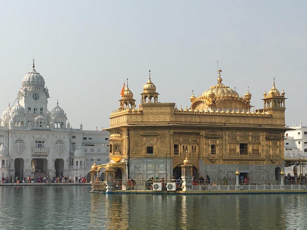 The Golden Temple, Amritsar, Punjab.