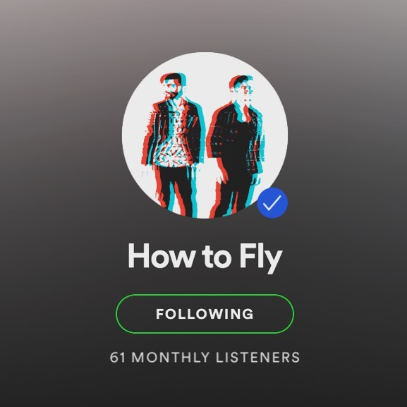 If you enjoy our music follow us on SPOTIFY! It really helps us out and we have some exciting new stuff coming soon and we want you guys to hear it first! #howtofly #newmusic #newshows #newimage #spotify #streaming #indie #indiepop #pop #synthpop #indieatlanta #atlindieartist