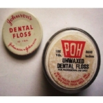 Johnson and Johnson introduced dental floss in 1898 and made it out of suture silk.