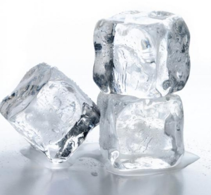 Chewing ice is brutal on teeth and gums.