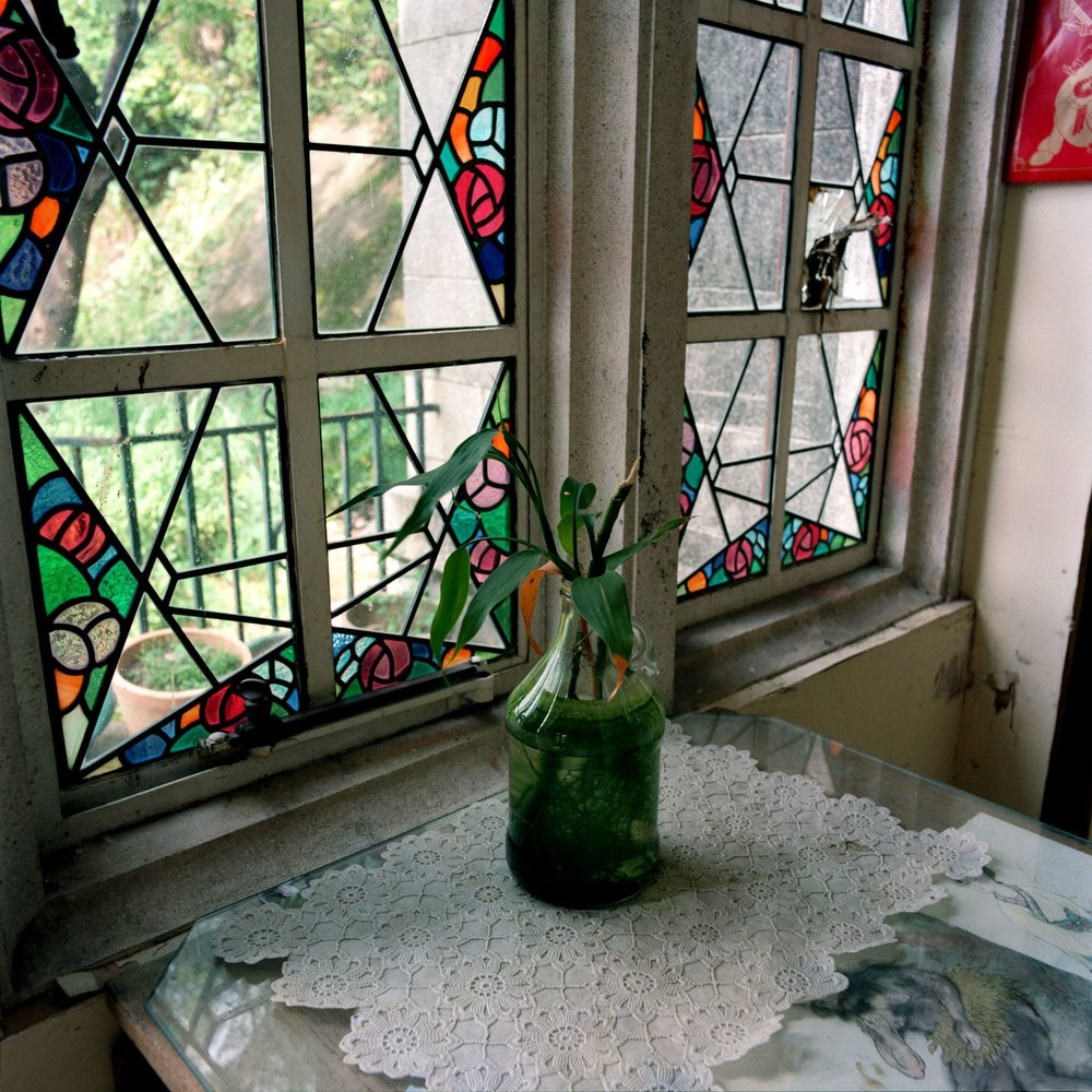 Stainglass, Eucliff Mansion