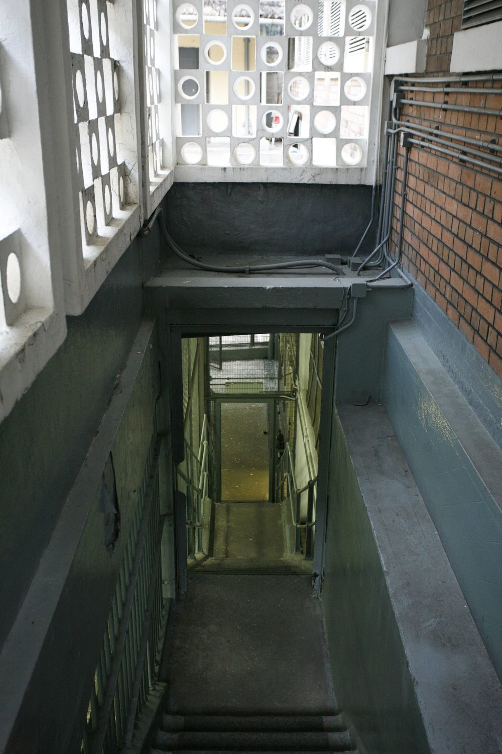 Stairway, old Central Police Station, 2006
