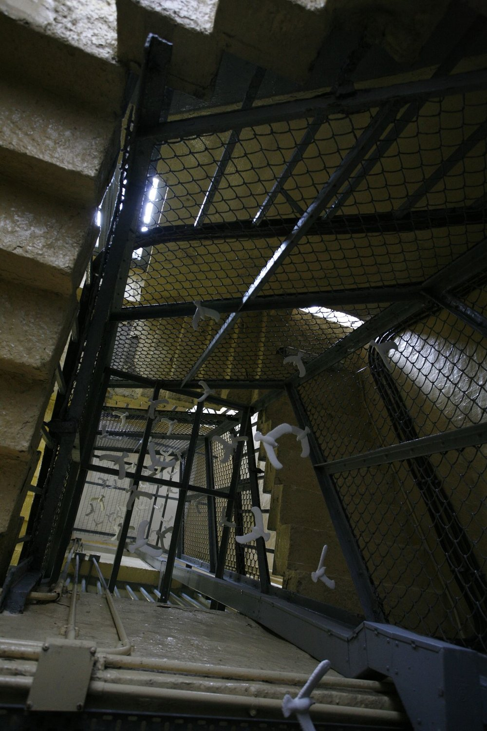 Staircase, old Central Police Station, 2006