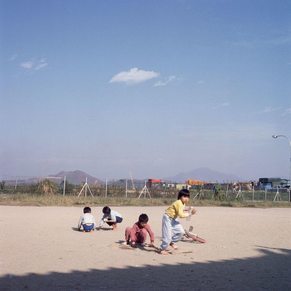 Sandbeach, Tin Shui Wai, Hong Kong 1980's