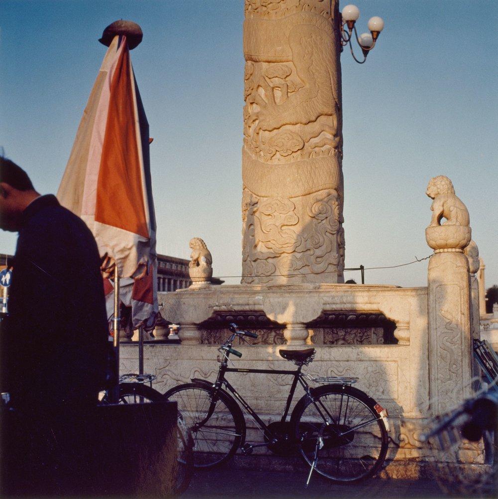 Tinanmun Square, Beijing, 1980's