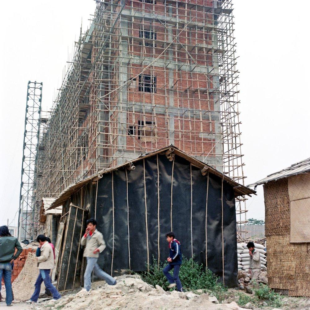 Construction Site, Sais Heung, Shenzhen, 1980's