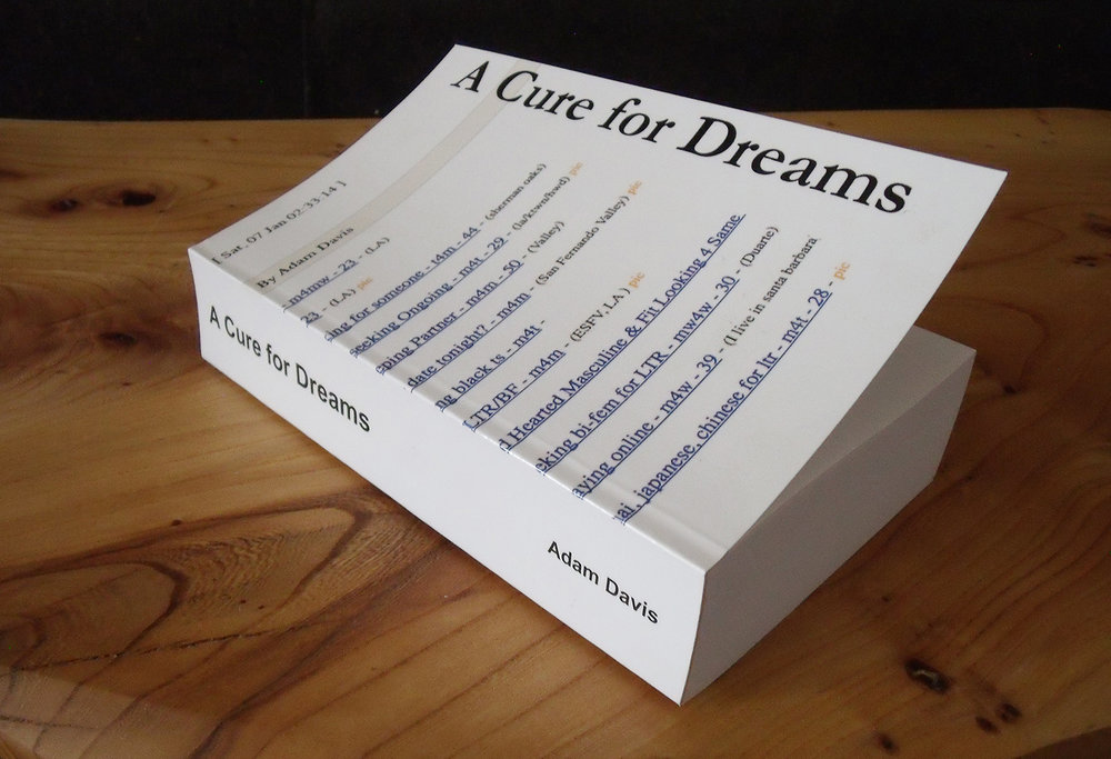 A Cure For Dreams Book.jpg