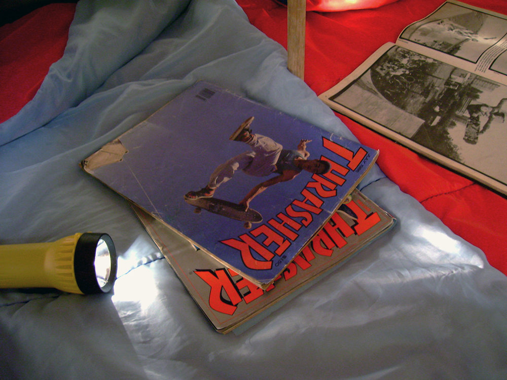 Tent magazines.JPG