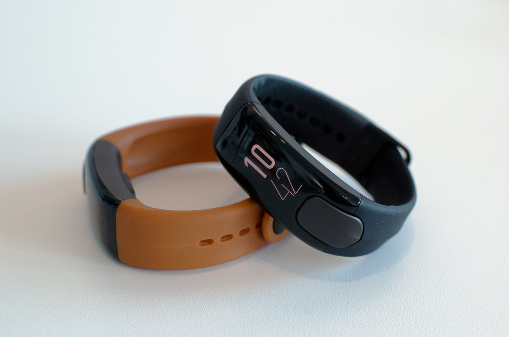 Mio Slice  - We worked hand-in-hand with Mio to develop the SLICE wearable. We were responsible for the industrial design, and the in-app experience that came along with it. The Mio SLICE was listed in  The Wall Street Journal's Best of CES 2017 .