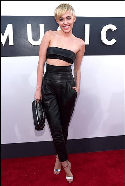 Miley Cyrus at the 2014 MTV VMA Awards  billboard.com