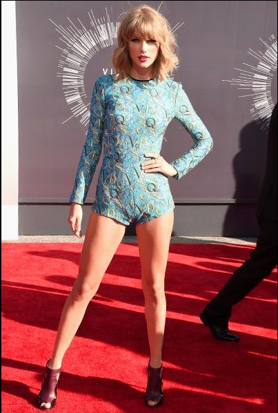 Taylor Swift 2014 MTV VMA Awards Red Carpet