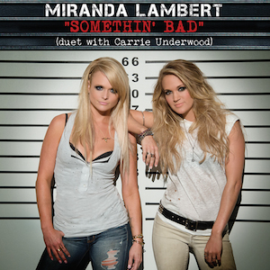 A_single_cover_for_the_song_somethin'_bad_by_Miranda_Lambert