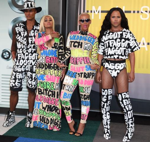 Amber Rose and Blac Chyna turn the catwalk into a slutwalk