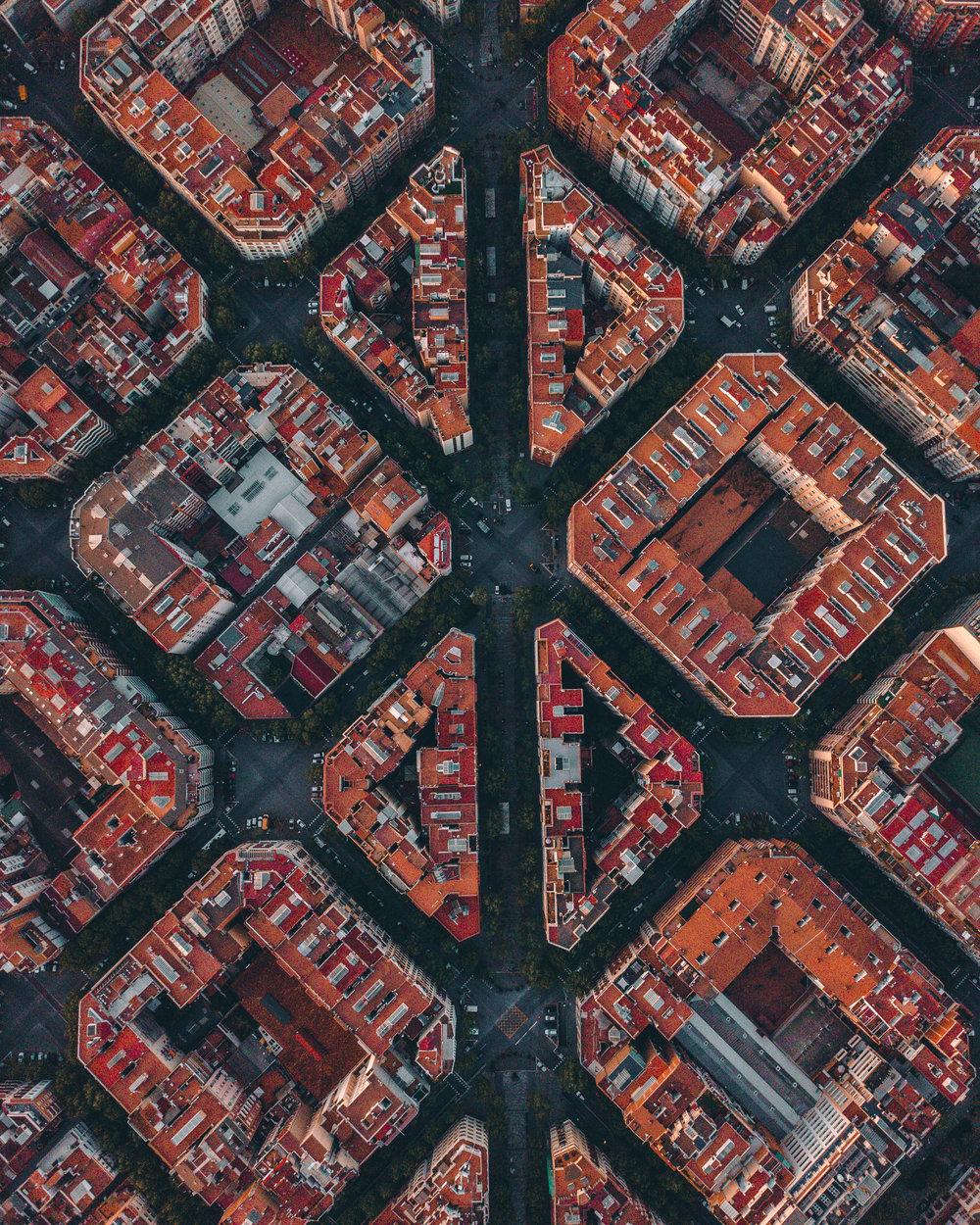 Symmetrical Barcelona