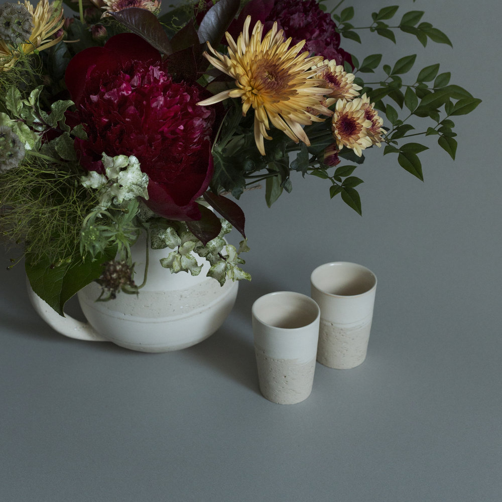 Fujii's Tea Set with Flowers HK$2,800