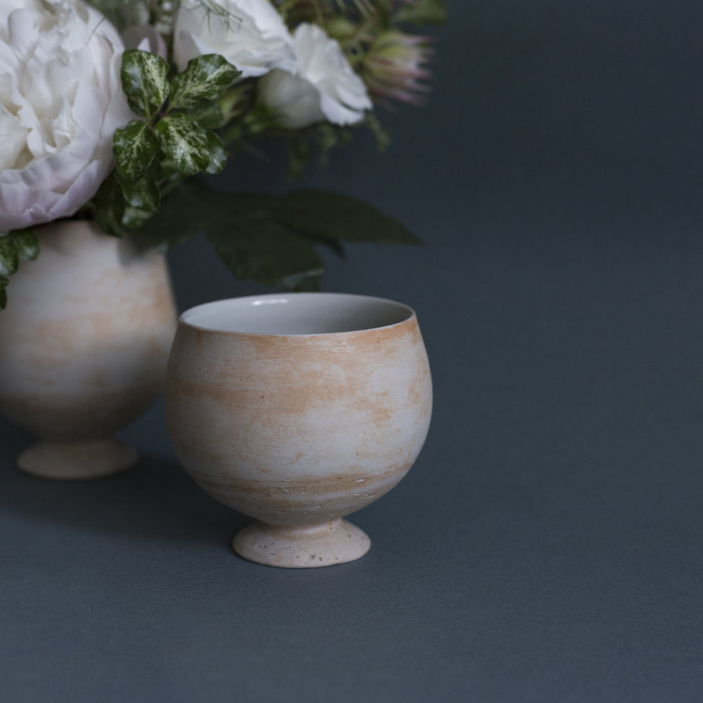 A Pair of Fujii's Sake Cups with Flowers HK$1,680