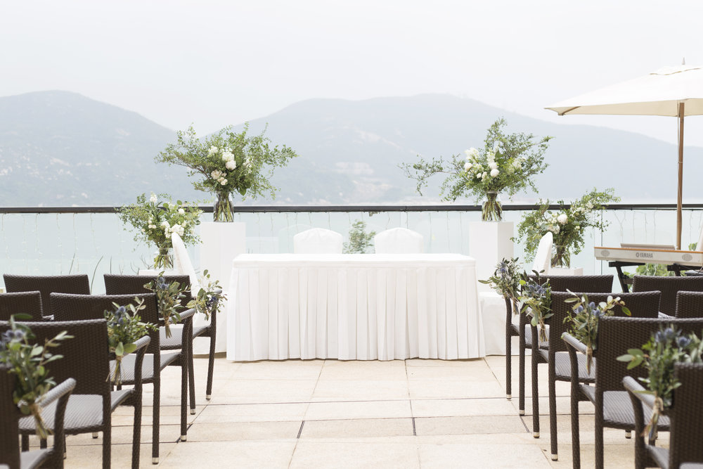 American Club Tai Tam   - - Kerry & Bob's Wedding -