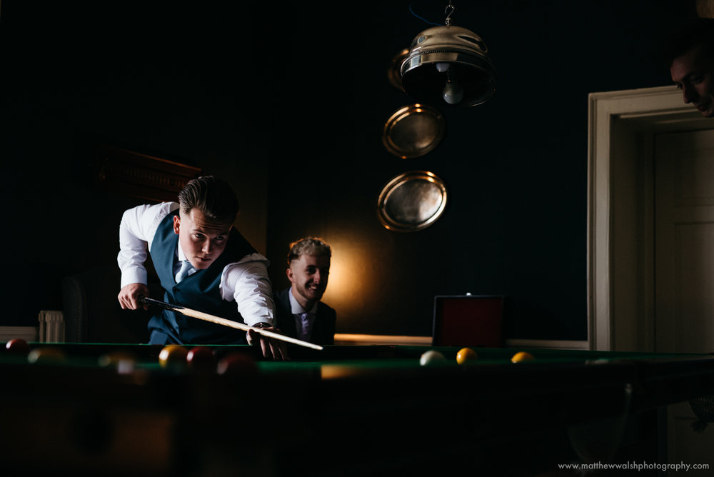 Another playing pool moment