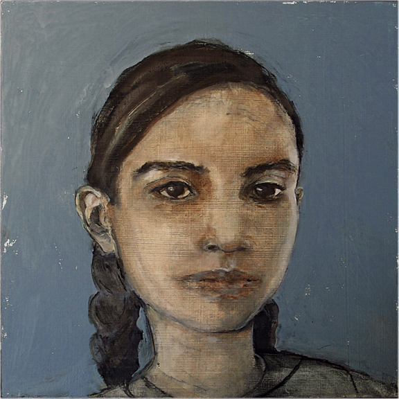Daniella - Oil on board - Sold