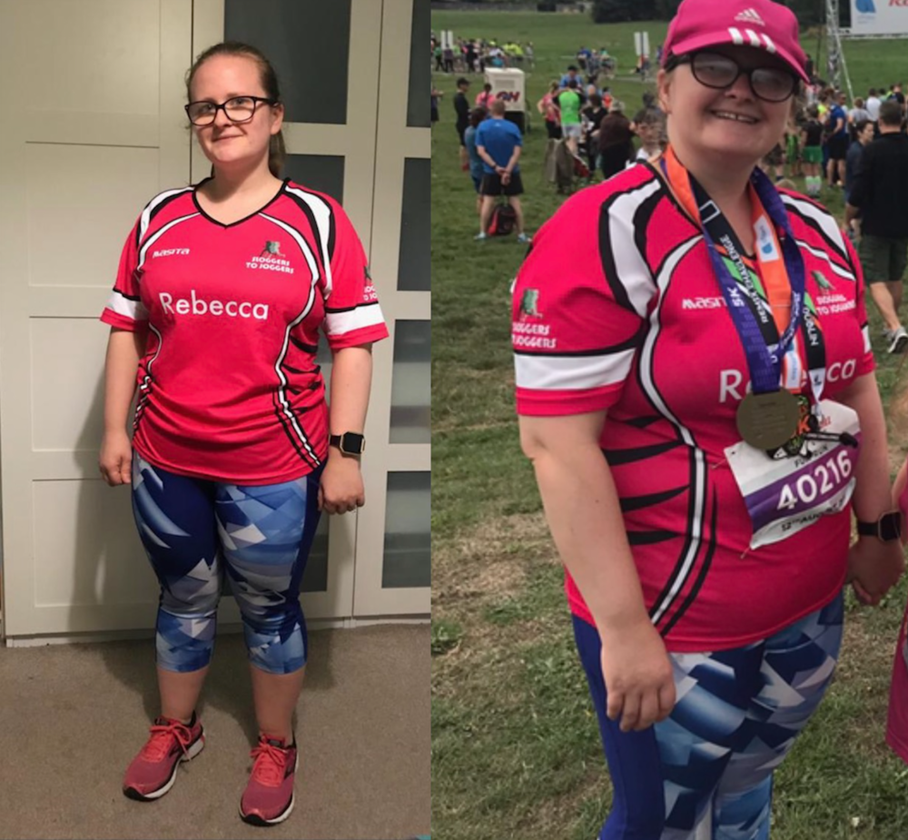 Rebecca Before and after photo at Unit 13 Fitness