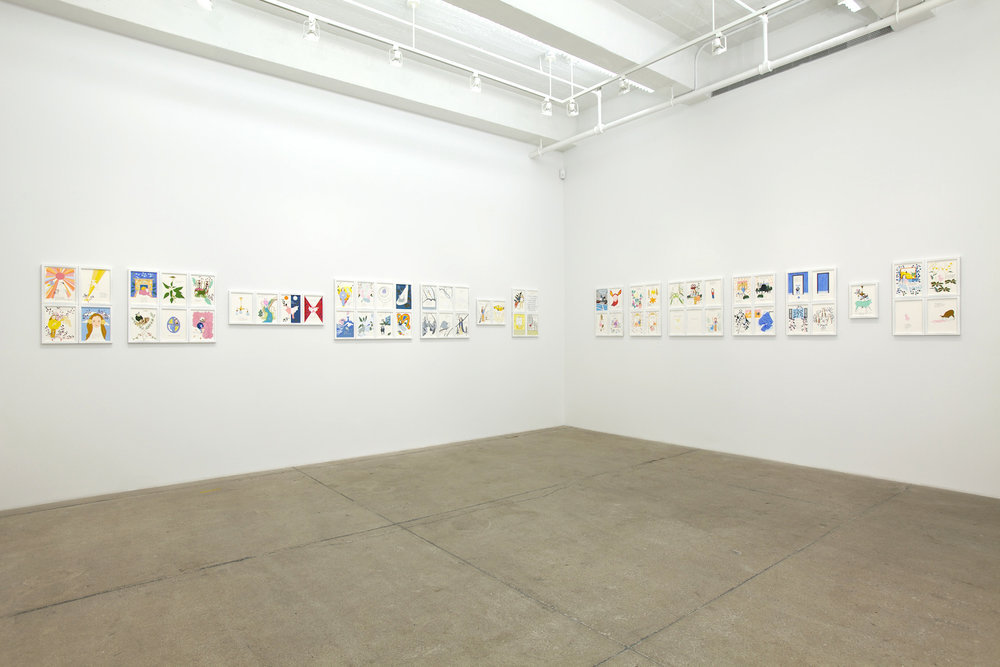 Installation view,  Of Lamb , 2011, PPOW gallery, New York. Photo: Susan Alzner