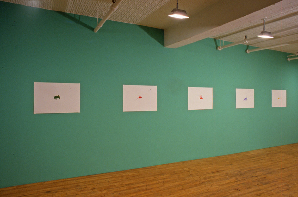 Installation view, Debs and Co., New York