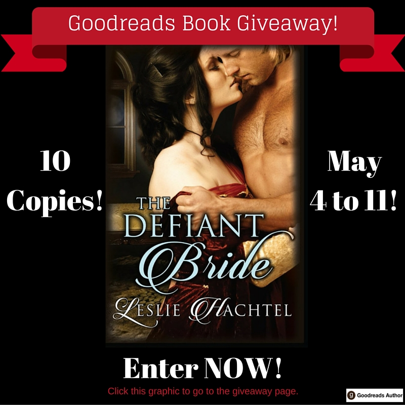 Defiant Bride - Goodreads Giveaway Promo Graphic