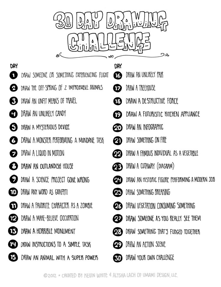 Click here for photos from our 30 day challenge!