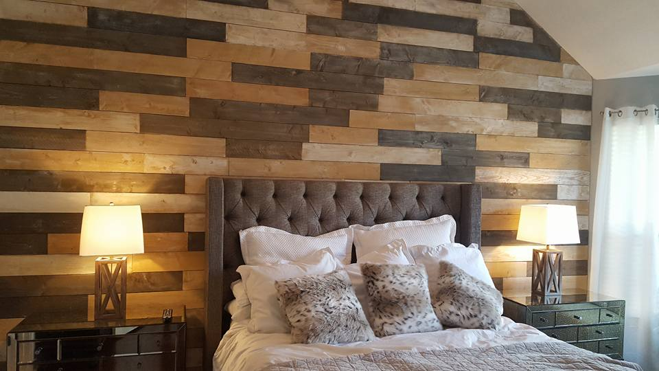 Excellent Hays Rustic Design — Wood & Shiplap Walls XI35