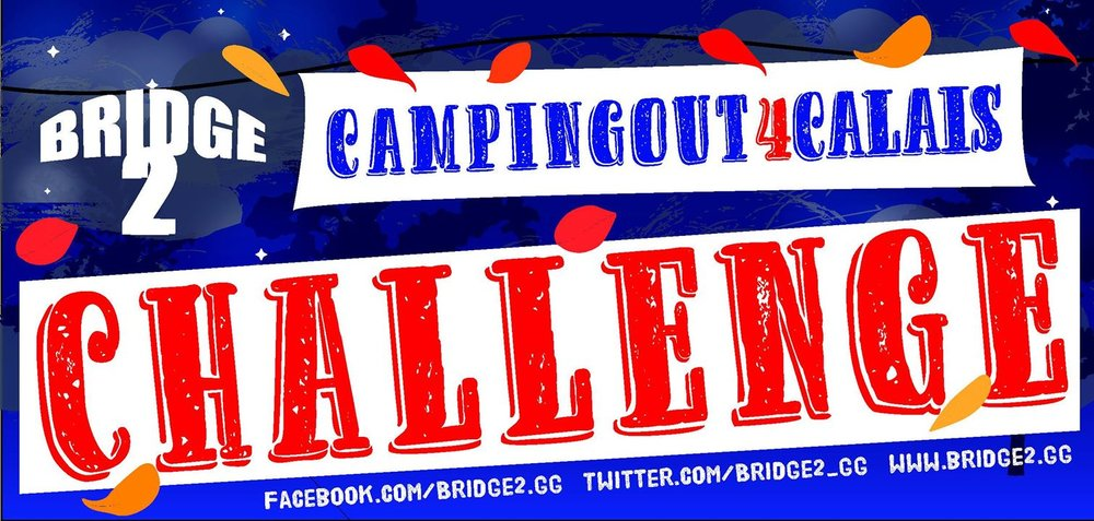 more information on CampingOut4Calais