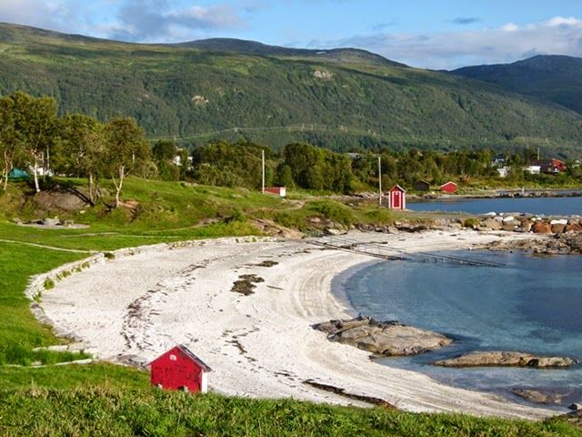 Telegrafbukta - the beach of Tromso