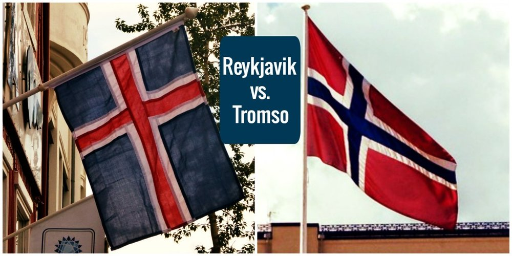 Reykjavik vs. Tromso // City-Guessing in the Arctic