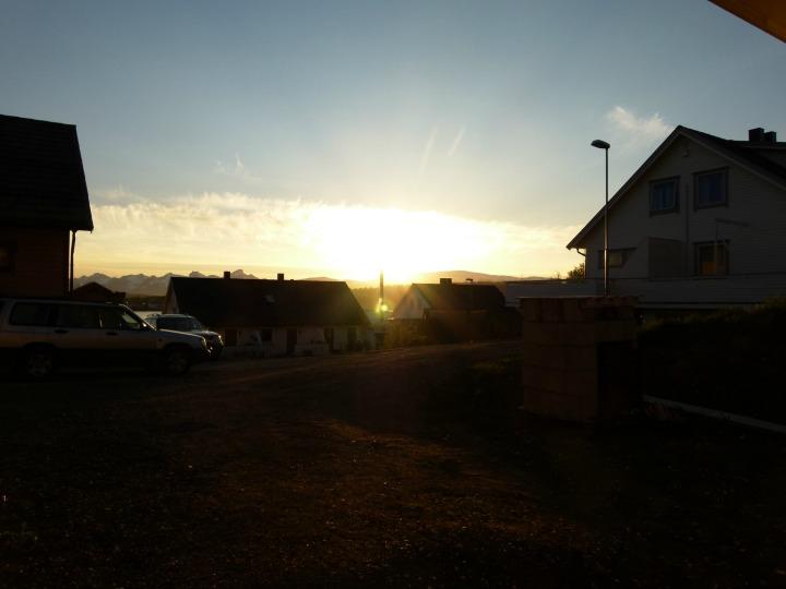 Midnight Sun in Tromso