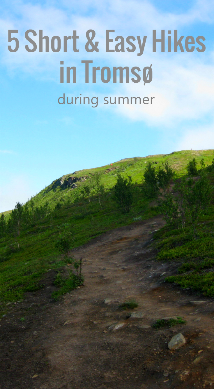 Visiting Tromso during summer and would like to see the Norwegian nature rather than the sights and stores? Then you should click through to see 5 short and easy hiking trails that offer you amazing views!