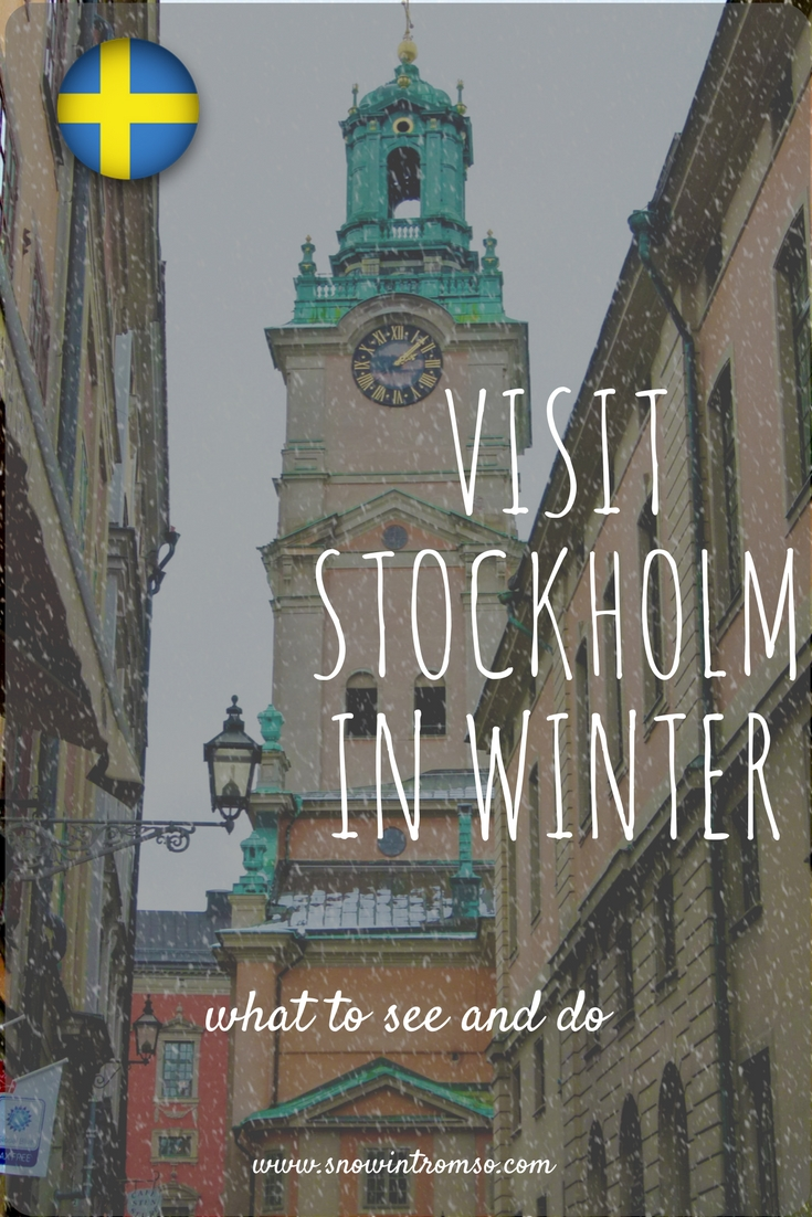 Stockholm in winter - would you visit?