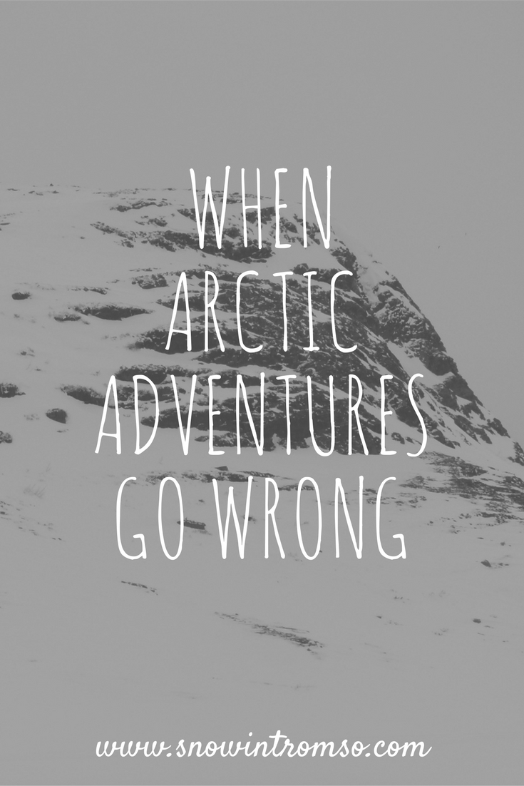 The #Arctic is a wonderful place - well, if you're not stuck on a mountain in a snowstorm that is! ;)