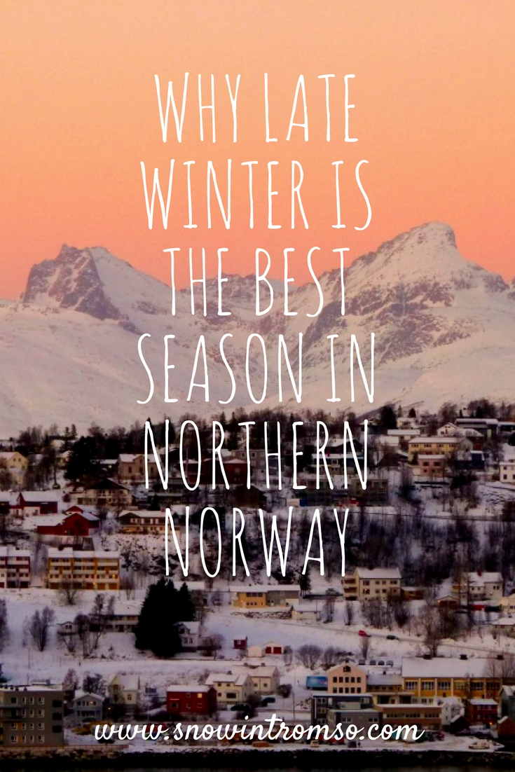 Late Winter - Click through to find out why February to April is the best season in Northern Norway