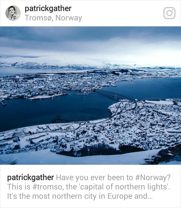 Arctic Winter Tromso