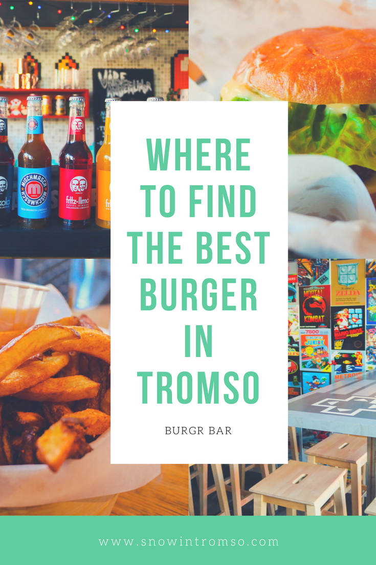 Visiting Tromso and wonder where the locals like to eat? Head to Burgr Bar for possible the best burger you've ever had! Full review here -->
