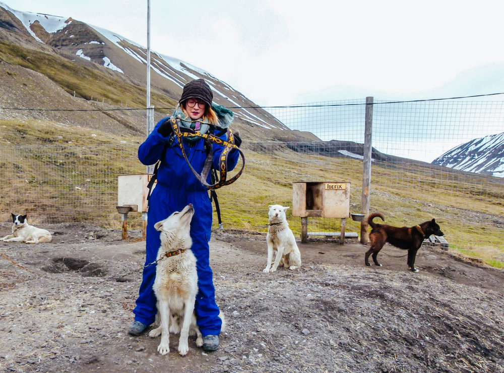 summer dog-sledding svalbard basecamp explorer