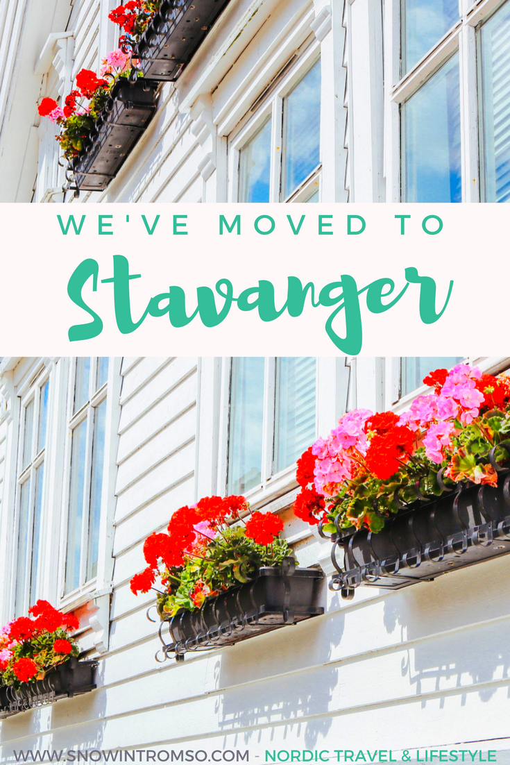 We've moved to Stavanger!! Read more about the why by clicking through to the blog!