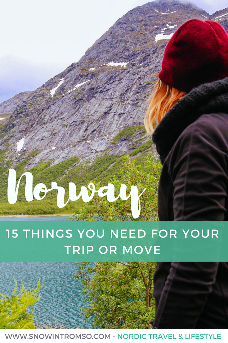 Are you planning to visit Norway or even move up north? Here are 15 things you'll definitely need!