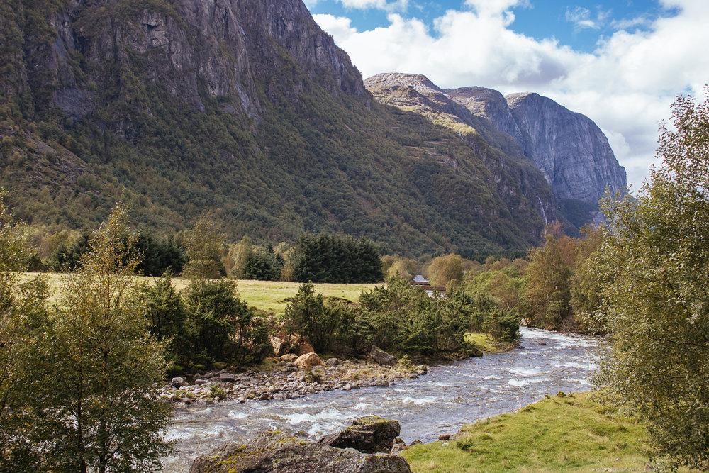Lysebotn Lysefjorden Hiking Festival Hike Mountains Fjord Norway
