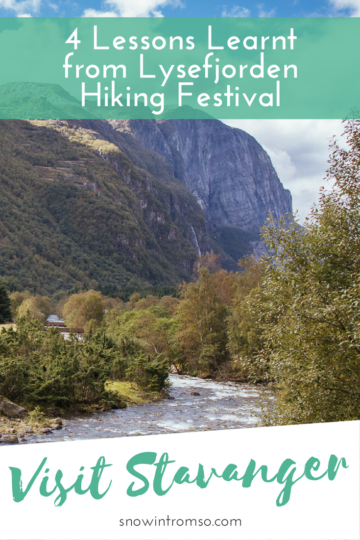 Why you should never underestimate going for a hike in Norway - 4 lessons we learnt at Lysefjorden Hiking Festival