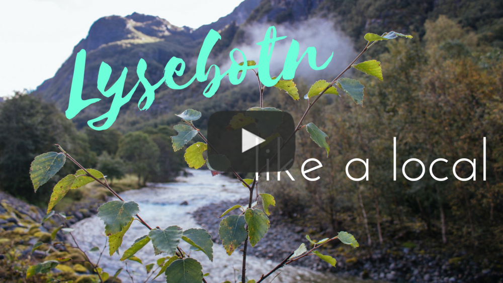 Would you like to see the entire day in rewind? Watch my vlog from Lysebotn on YouTube