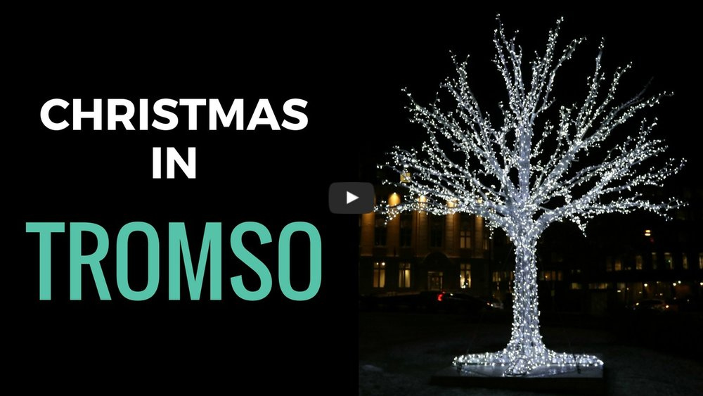 Follow me around Christmassy Tromsø on my YouTube channel here
