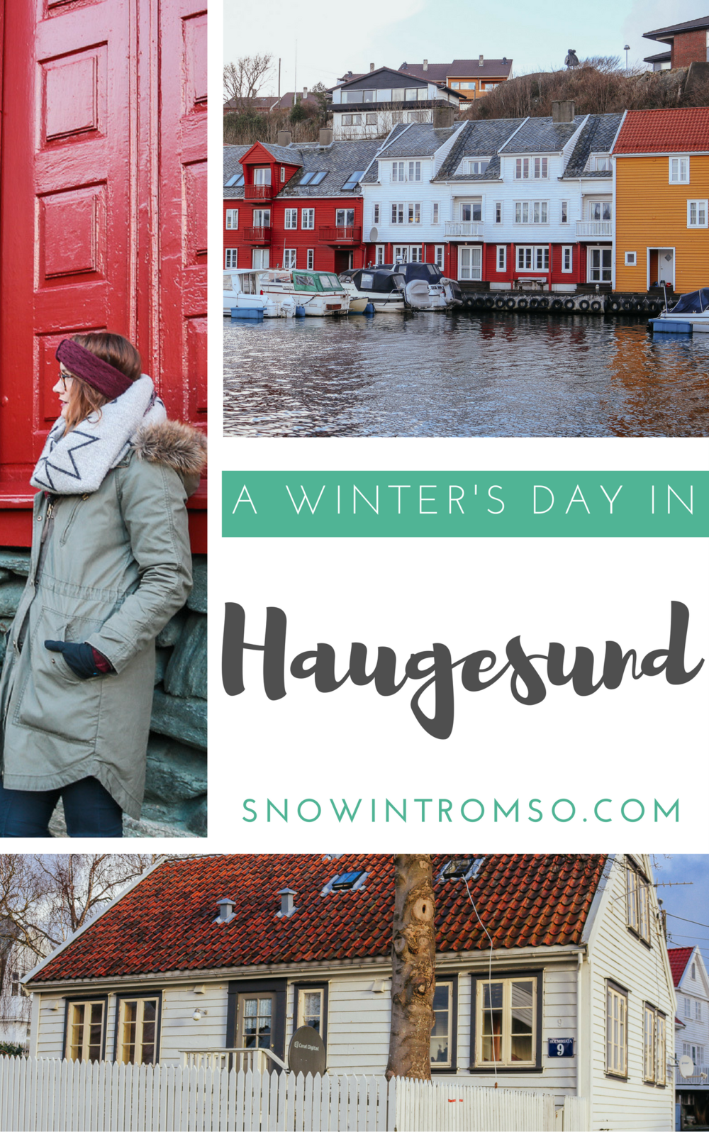 A winter's day in Haugesund on the west coast of Norway