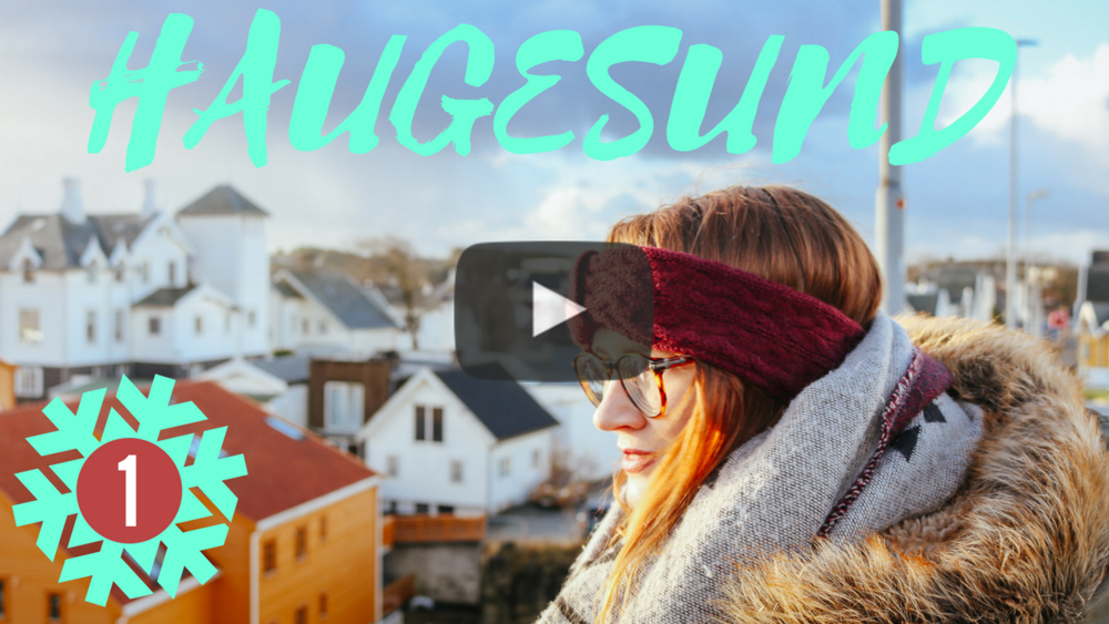 Follow me around Christmassy Haugesund on my YouTube channel here
