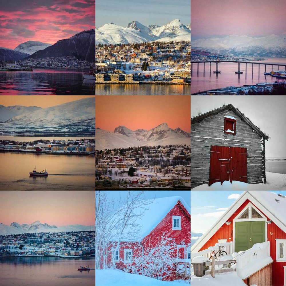 snow in tromsø northern norway travel guide